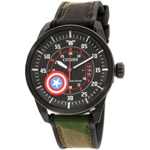 Citizen Steel 45mm Quartz AW1367-05W new United States of America, New Jersey, Somerset