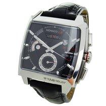 TAG Heuer Monaco Calibre 12 Acero 40.5mm Negro