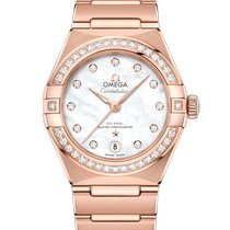 Omega 131.55.29.20.55.001 Rose gold 2021 Constellation 29mm new