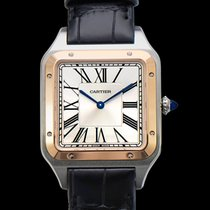 Cartier W2SA0017 Rose gold 2021 Santos Dumont 46.6mm new United States of America, California, Burlingame