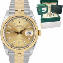 Rolex Acero y oro Datejust 36mm usados