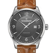 Hamilton Jazzmaster Viewmatic Steel 44mm Black Arabic numerals United States of America, Massachusetts, Boston