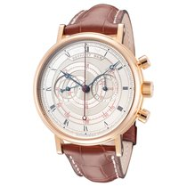 Breguet Classique new Manual winding Chronograph Watch with original box and original papers SKU