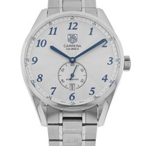 TAG Heuer Carrera Calibre 6 Steel 39mm Silver Arabic numerals United States of America, Florida, Sarasota
