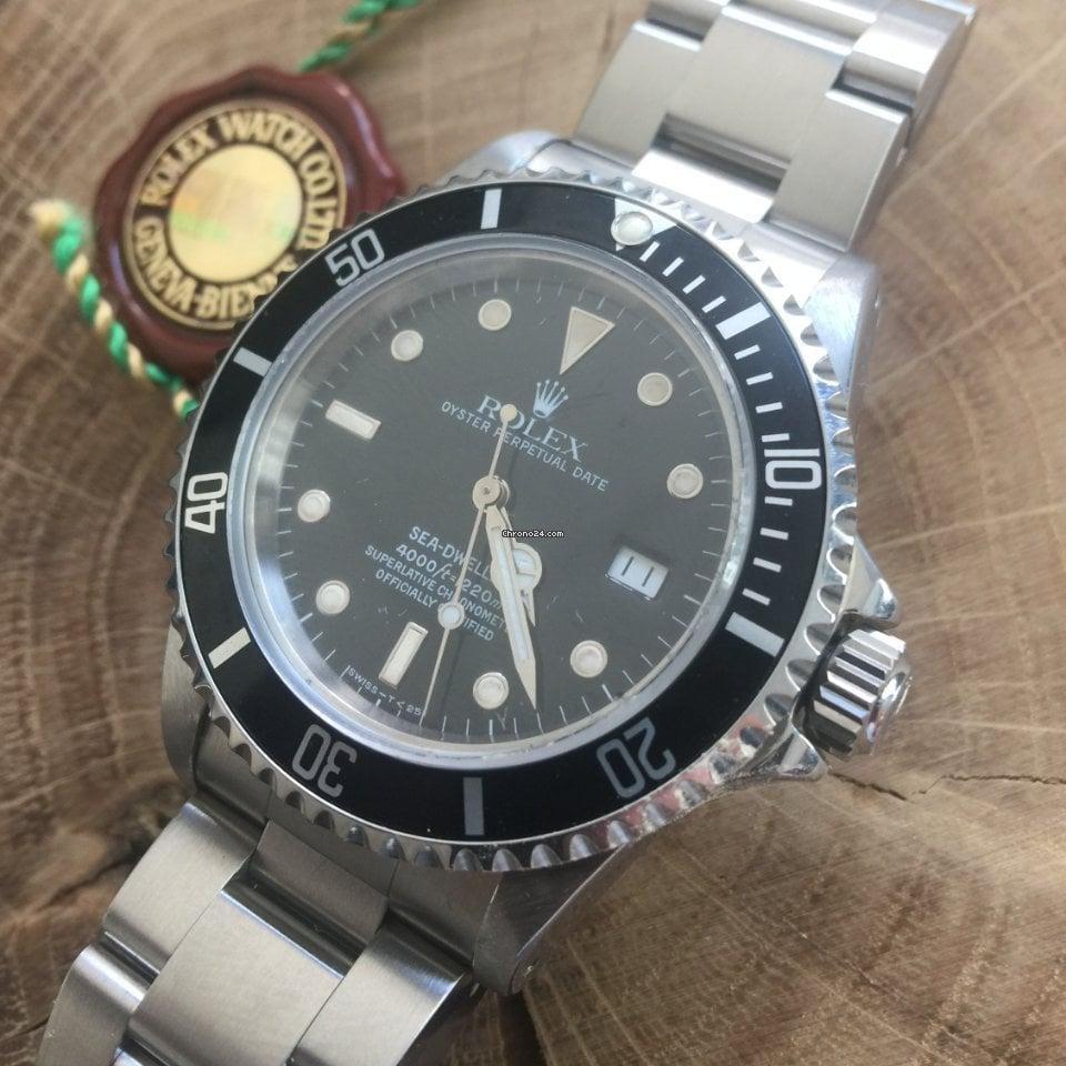 """Rolex Sea-Dweller 16660 Sea-Dweller"""" CNEXO 13""""- Triple 6 Extrem Rare  Taucher-Kollektion aus 1984 ( Comex)) 1984 gebraucht"""