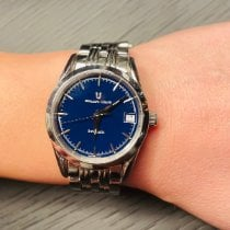 Universal Genève new Automatic Display back Central seconds Luminous hands 31mm Steel Sapphire crystal