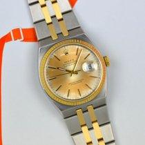 Rolex Datejust Oysterquartz Or/Acier 36mm Orange Sans chiffres France, Paris