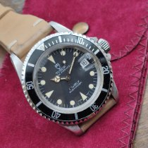 Tudor Steel Automatic Black No numerals 40mm pre-owned Submariner