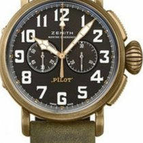 Zenith Pilot Type 20 Extra Special nuevo 2019 Automático Cronógrafo Reloj con estuche y documentos originales 29.2430.4069/21.C800