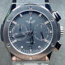 Hublot Classic Fusion Chronograph Acier 45mm Noir Sans chiffres