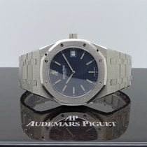 Audemars Piguet Royal Oak Jumbo neu 2012 Automatik Uhr mit Original-Box und Original-Papieren 15202ST.OO.0944ST.03