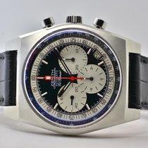 Zenith El Primero New Vintage 1969 Steel 40mm Black No numerals
