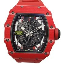 Richard Mille RM 035 RM35-02 Sehr gut Carbon 42mm Automatik