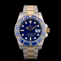 Rolex Submariner Date Gold/Steel 40mm Blue No numerals United Kingdom, London