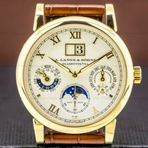 A. Lange & Söhne pre-owned Automatic Sapphire crystal 3 ATM