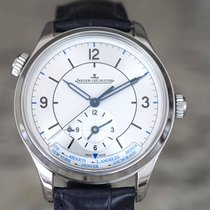 Jaeger-LeCoultre Master Geographic Сталь 39mm Cеребро Aрабские