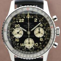 Breitling Navitimer Cosmonaute Сталь 41mm Черный Aрабские