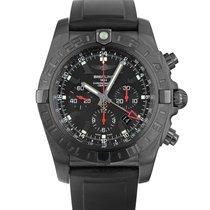 Breitling Chronomat GMT Acero 47mm Negro