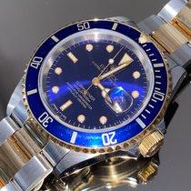 Rolex Submariner Date 16613 Meget god Guld/Stål 40mm Automatisk