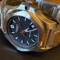 Victorinox Swiss Army Stahl 43mm Quarz 241723.1 neu
