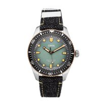 Oris Divers Sixty Five Steel 40mm Green No numerals United States of America, Pennsylvania, Bala Cynwyd