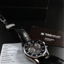 TAG Heuer Carrera Calibre 36 Steel 43mm Black Arabic numerals United States of America, Florida, Palm Springs