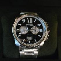 Cartier Calibre de Cartier Chronograph Steel 42mm Black Roman numerals United States of America, California, Los Angeles