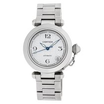 Cartier Pasha C Steel 35mm Silver Arabic numerals United States of America, Florida, Surfside