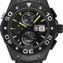 TAG Heuer Aquaracer 500M Titanium 44mm Black United States of America, California, Moorpark