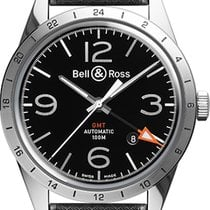 Bell & Ross BR V1 new Automatic Watch with original box BR-123-GMT-24H