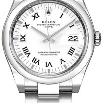 Rolex Oyster Perpetual Date new Automatic Watch with original box 115200-WHTRO