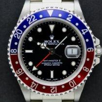 Rolex GMT-Master II Stahl 40mm Schwarz Schweiz, Geneva