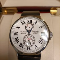 Ulysse Nardin Marine Chronometer 43mm Acier 43mm Blanc Romains France, Strasboug