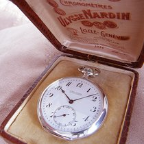 Ulysse Nardin Silver 49mm Manual winding Ulysse Nardin pocket watch pre-owned