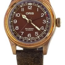 Oris Big Crown Pointer Date Bronze 40mm Brown United States of America, Illinois, BUFFALO GROVE