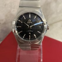 Omega Constellation Men Steel 38mm Black United Kingdom, Kings Langley
