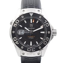 TAG Heuer Aquaracer 500M pre-owned Black Rubber
