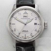 IWC Fliegeruhr Mark Stahl 38mm Silber Arabisch Deutschland, München