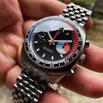 Strom Steel 40mm Manual winding YACHT RACER new