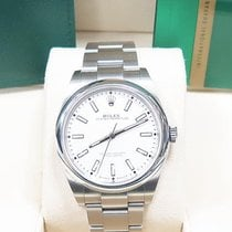 Rolex Oyster Perpetual 39 Steel 39mm White No numerals United Kingdom, Kings Langley