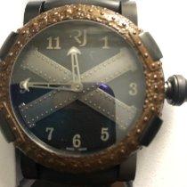 Romain Jerome Titanic-DNA nuevo 2012 Automático Reloj con estuche y documentos originales T.ALG.OXY3R.BBBB.00 BBGCB