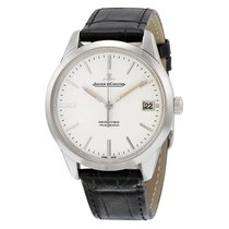 Jaeger-LeCoultre Geophysic True Second Acero 39.6mm Plata Sin cifras