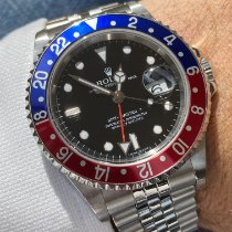 Rolex 16710 Steel 2006 GMT-Master II 40mm pre-owned