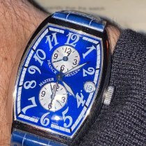 Franck Muller usados Automático 32mm Azul Cristal de zafiro 3 ATM