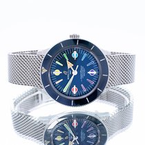 Breitling Superocean Heritage Steel 42mm Blue