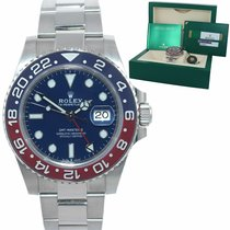 Rolex White gold 40mm Automatic GMT-Master II new