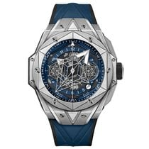 Hublot Big Bang Sang Bleu Titanio 45mm Azul