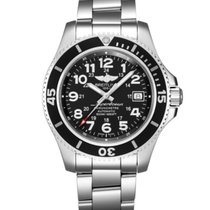 Breitling Superocean II 42 Steel 42mm Black Arabic numerals United States of America, New Jersey, Princeton