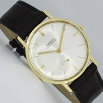 Marvin pre-owned Manual winding 33mm Silver Plastic Not water resistant