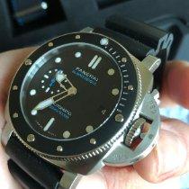 Panerai Luminor Submersible Acier 42mm Noir Sans chiffres France, Strasbourg